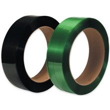 "16 x 6"" Core Polyester Strapping - Smooth"