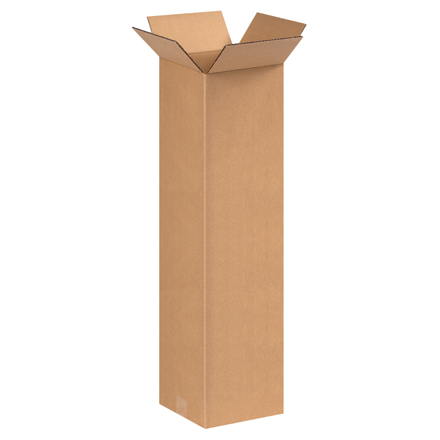"9 x 9 x 36"" Tall Corrugated Boxes"