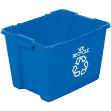 Rubbermaid<span class='rtm'>®</span> Tote Bin Recycling Containers